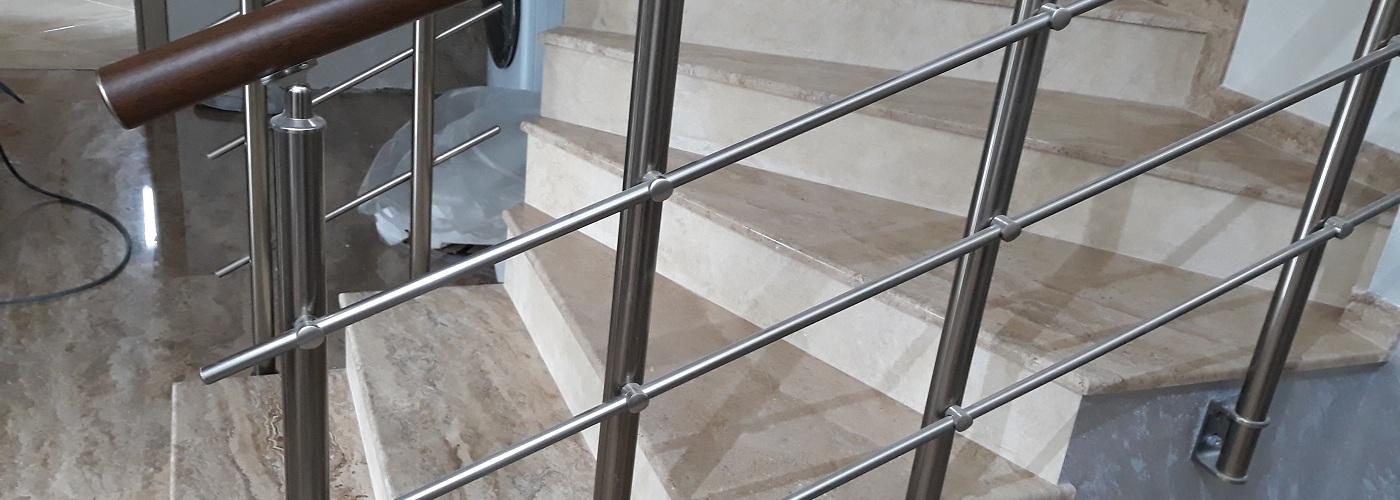 Изработка на стъпала от естествен камък